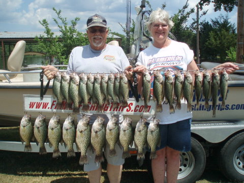 lake degray crappie fishing report
